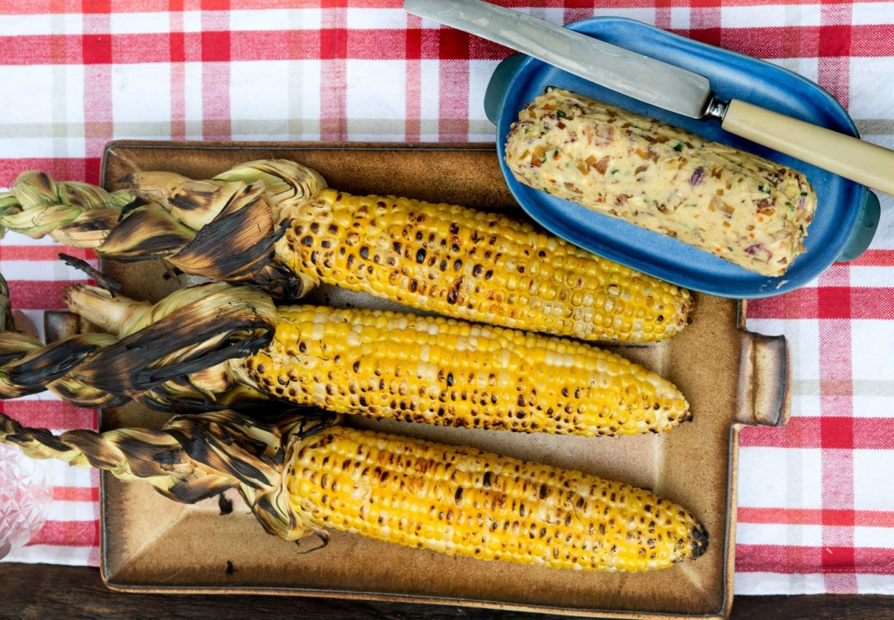 Bacon-Cider-Butter-and-Grilled-Ears-of-Corn