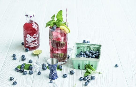 Blueberry Kombucha Mojito 2