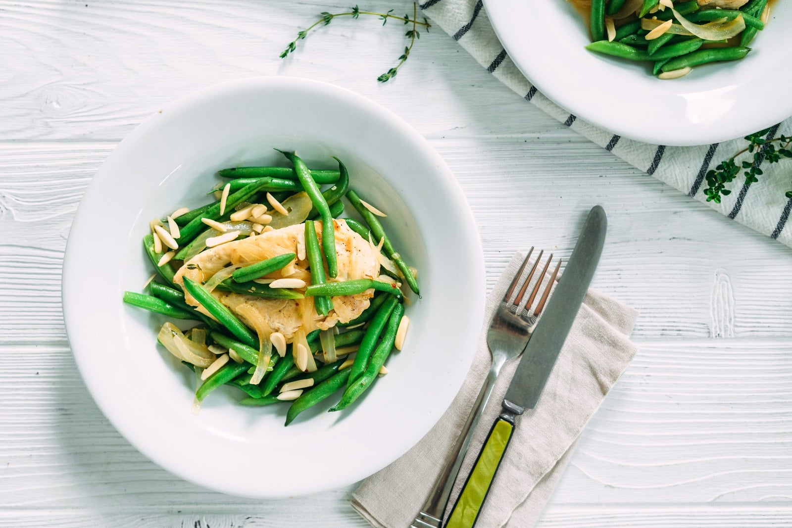 Chicken with Green Beans and Almonds_HeroA