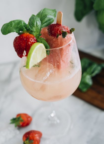 Cider with Strawberry Basil Popsicle_2
