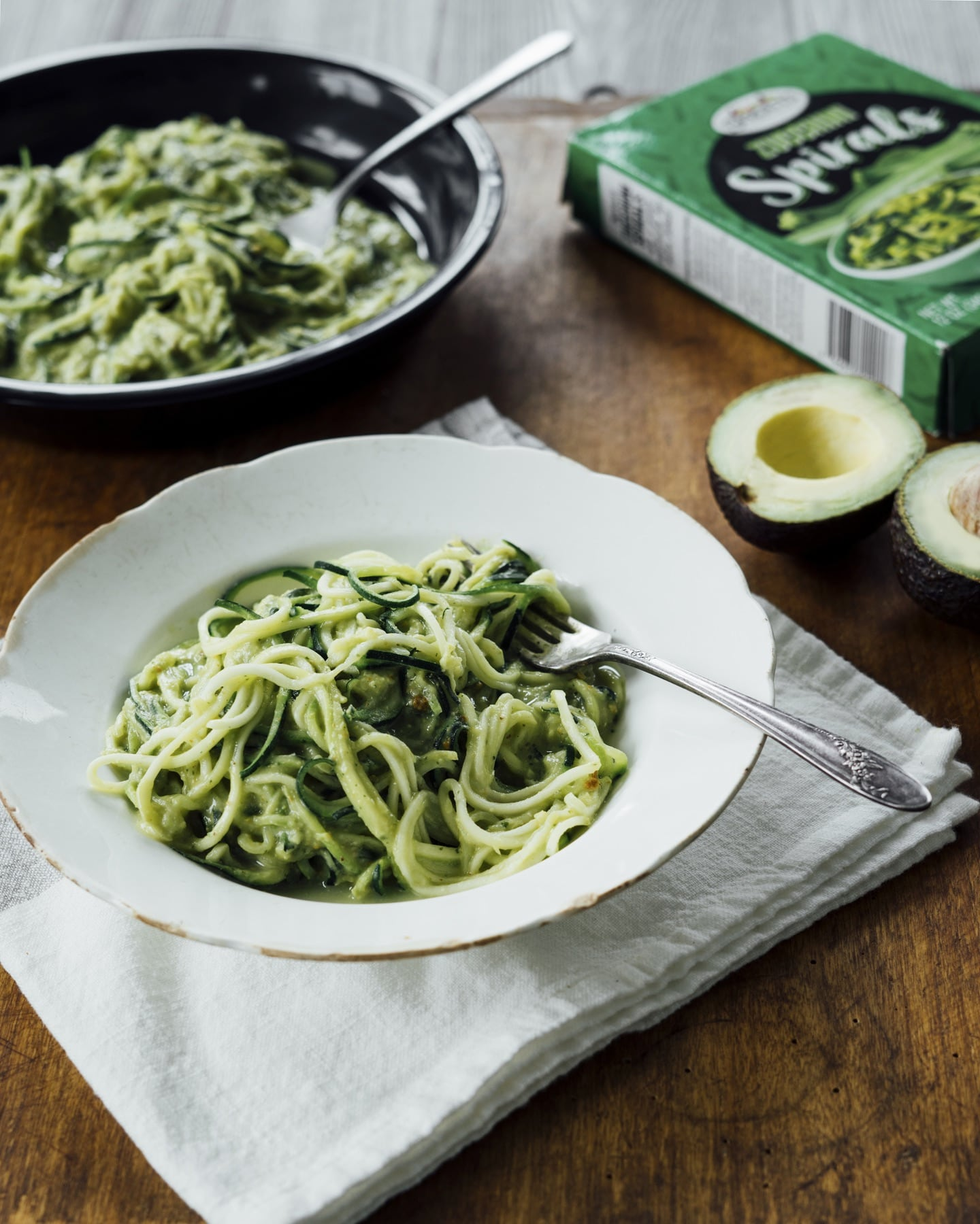 Creamy Zoodles with Avocado Pesto HERO