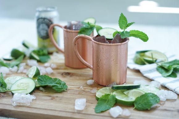 Cucumber Mint Mule 1