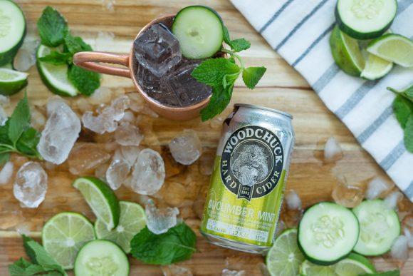 Cucumber Mint Mule 2
