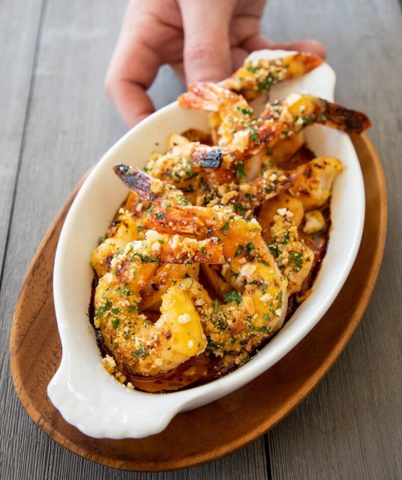 Dijon Scallops and Shrimp-1242