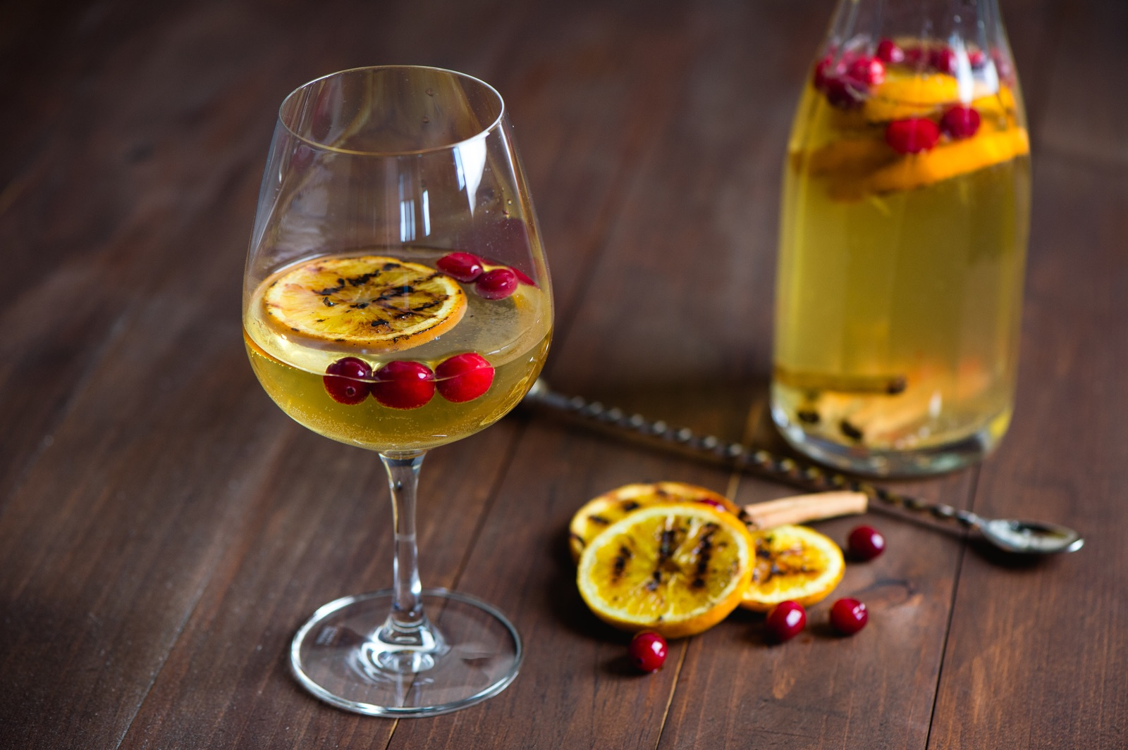 Fire and Ice Roasted Fruit Sangria 2
