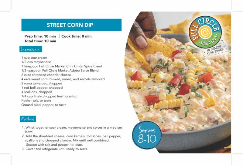 FullCircle_ShelfTalker_ Street Corn Dip