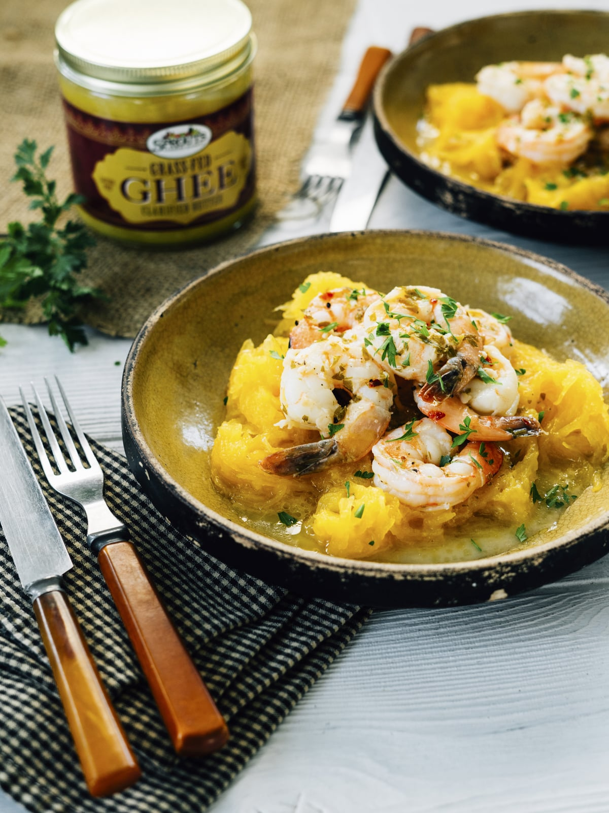 Ghee Shrimp Scampi over Spaghetti Squash_Shot2
