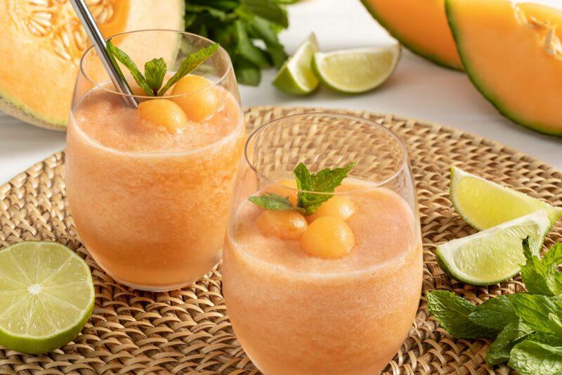 MELONP08B Cantaloupe Frose