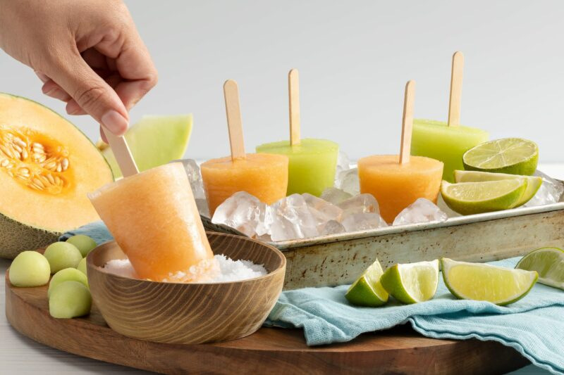 MELONP09A Margarita Melon Pops