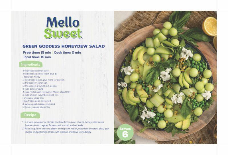 MelloSweet_ShelfTalker_ Green Goddess Honeydew Salad