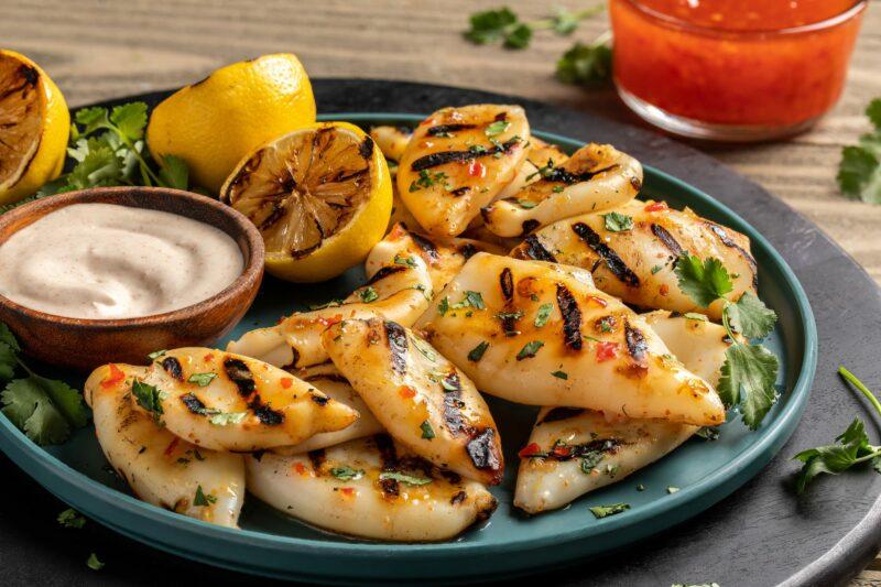 P01-B_BBQ Sweet Chili Grilled Calamari