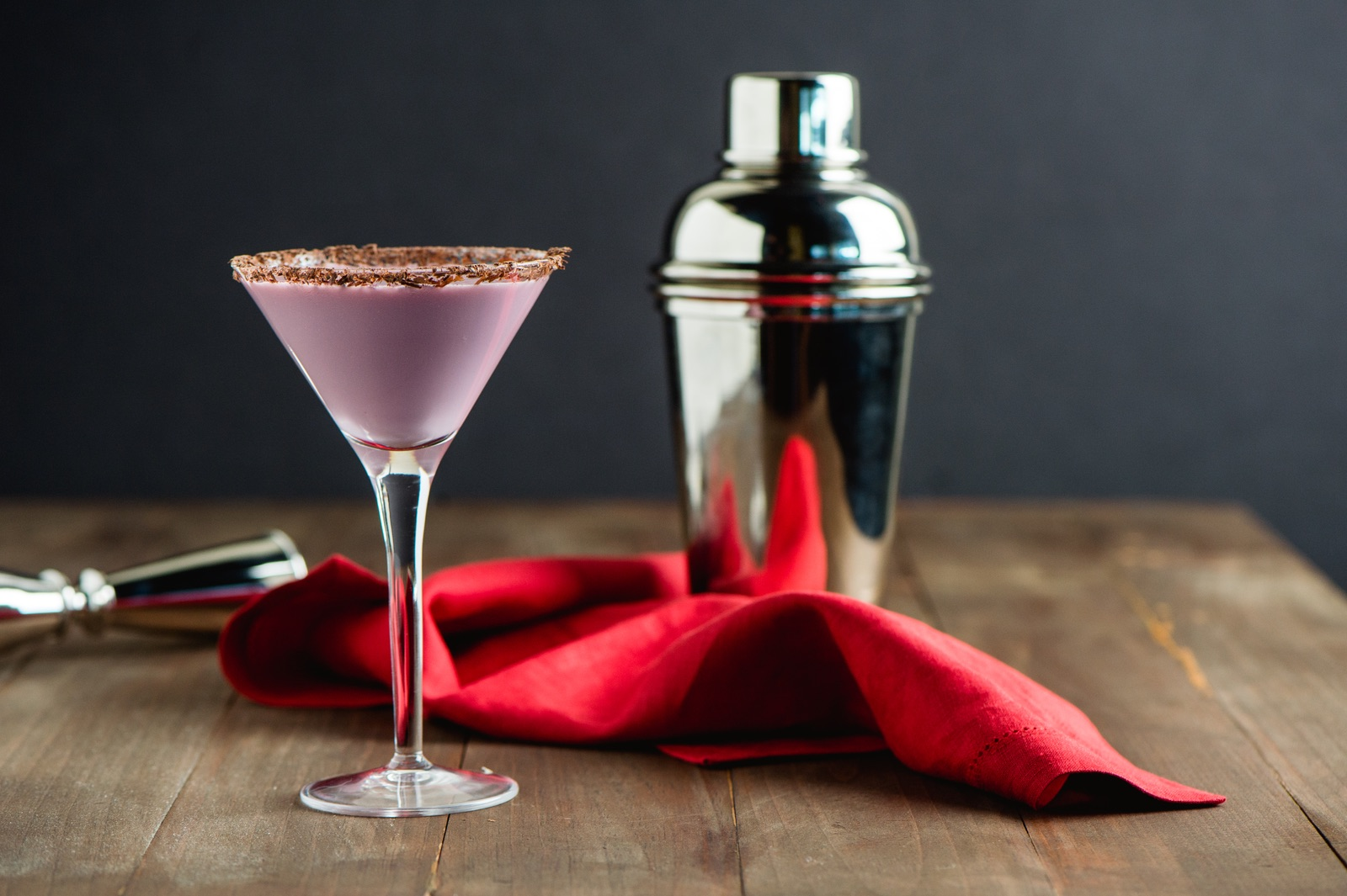PA Cherry Chocolate Wine Martini
