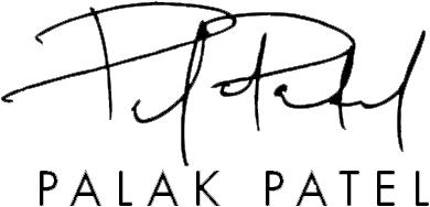 Chef Palak Patel