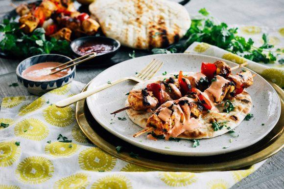Portfolio dish works preserved lemon harissa marinated chicken kebabs recipe for casablanca market forumfinder Choice Image