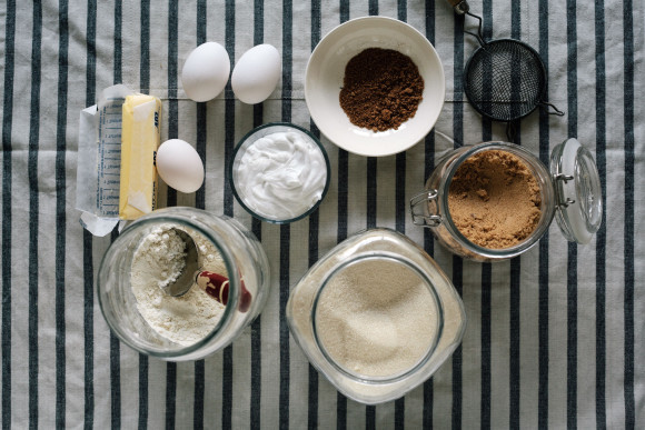 Cinnamon bun ingredients