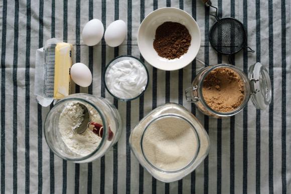 Cinnamon bun ingredients