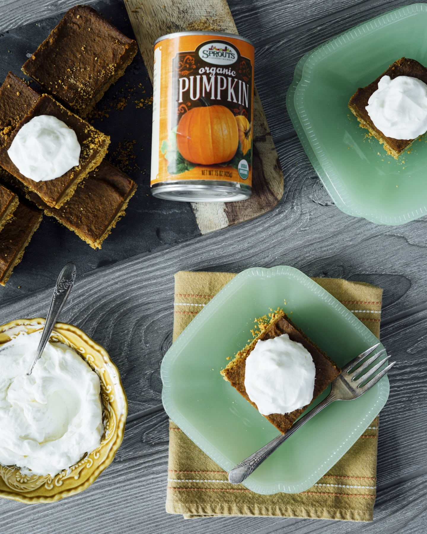 Vegan Pumpkin Pie Bars HERO