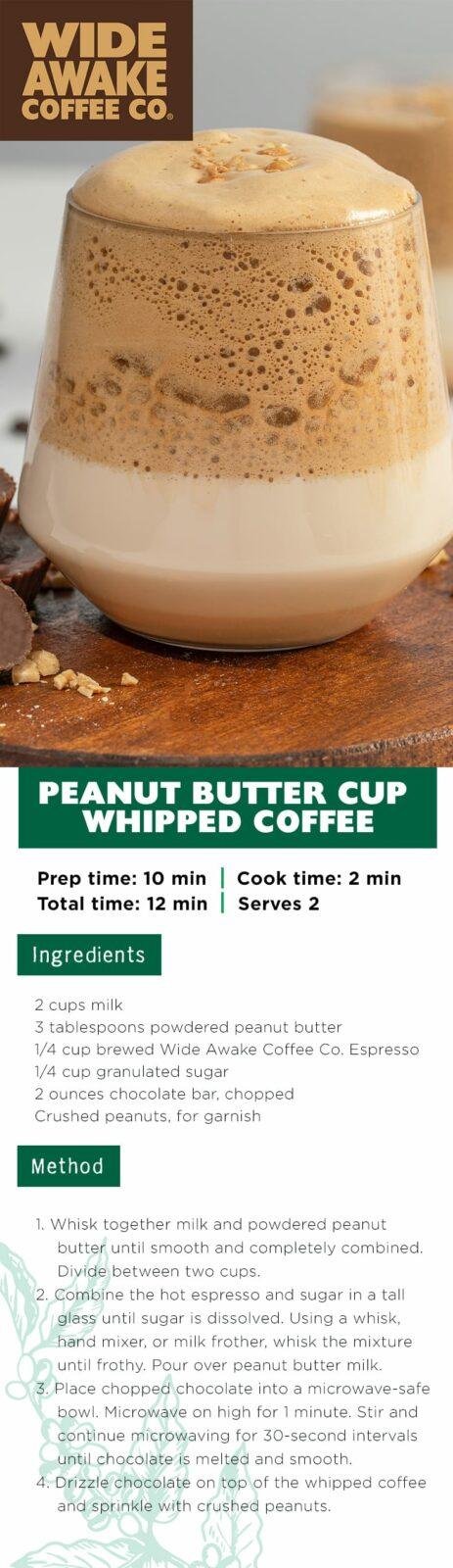 WideAwake_PinterestPinPinterest_Peanut Butter Cup Whipped Coffee