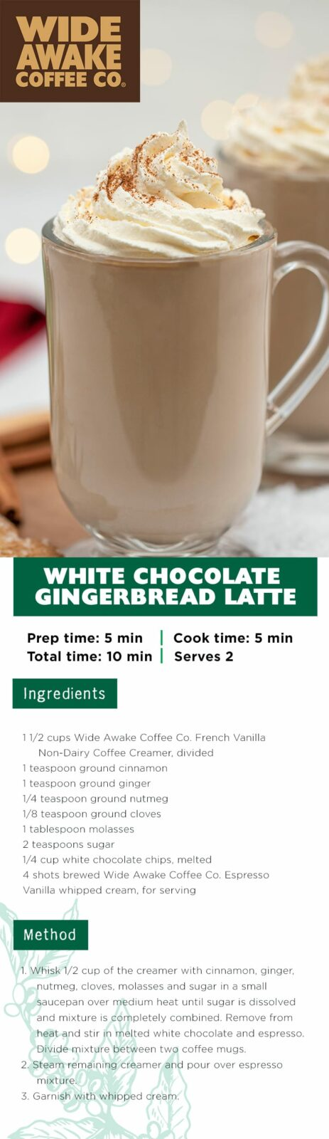 WideAwake_PinterestPinPinterest_White Chocolate Gingerbread Latte