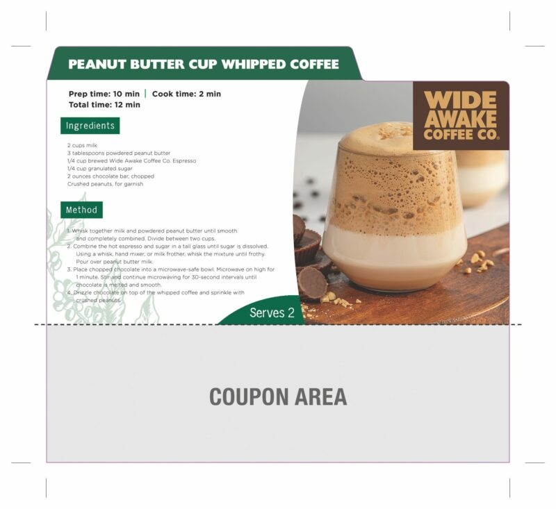 WideAwake_RecipeCardCoupon_Peanut Butter Cup Whipped Coffee