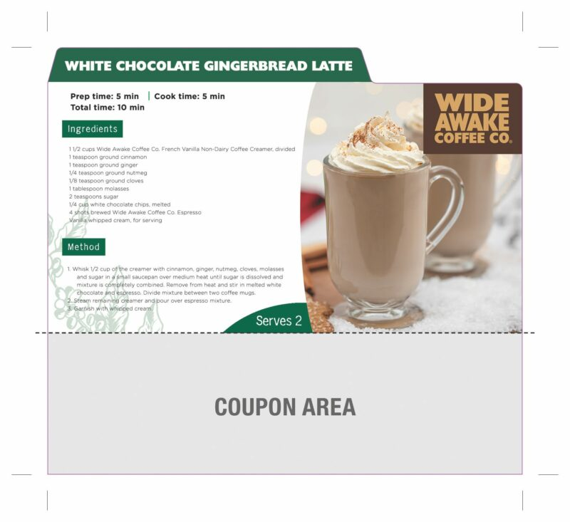 WideAwake_RecipeCardCoupon_White Chocolate Gingerbread Latte