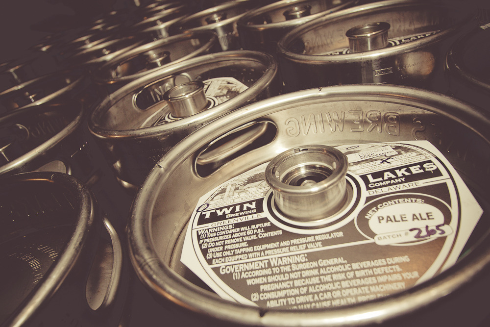 Kegs, Twin Lakes Brewing Co.